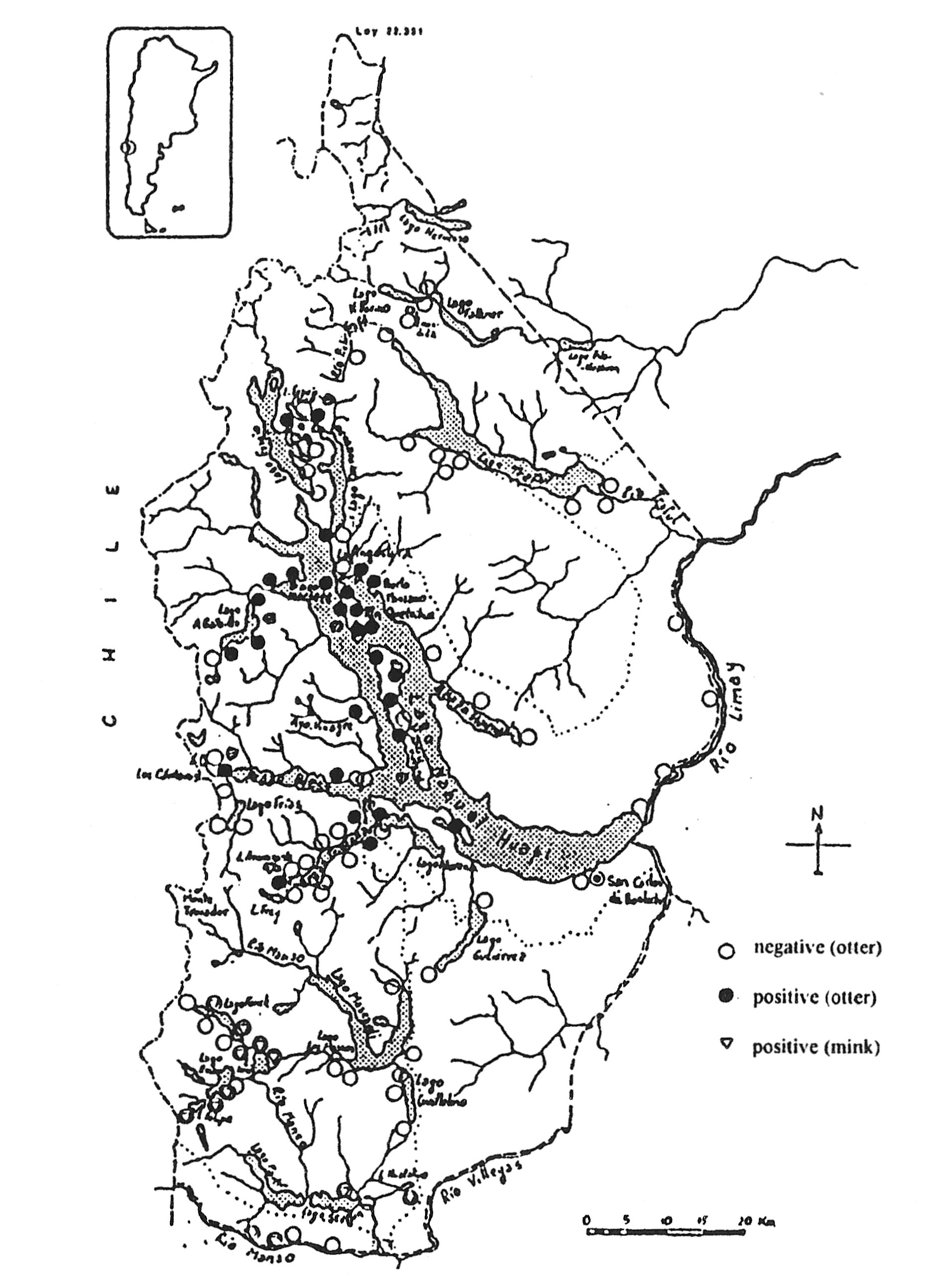 Porro G And Chehébar C Monitoring The Distribution And - Argentina political map 1996