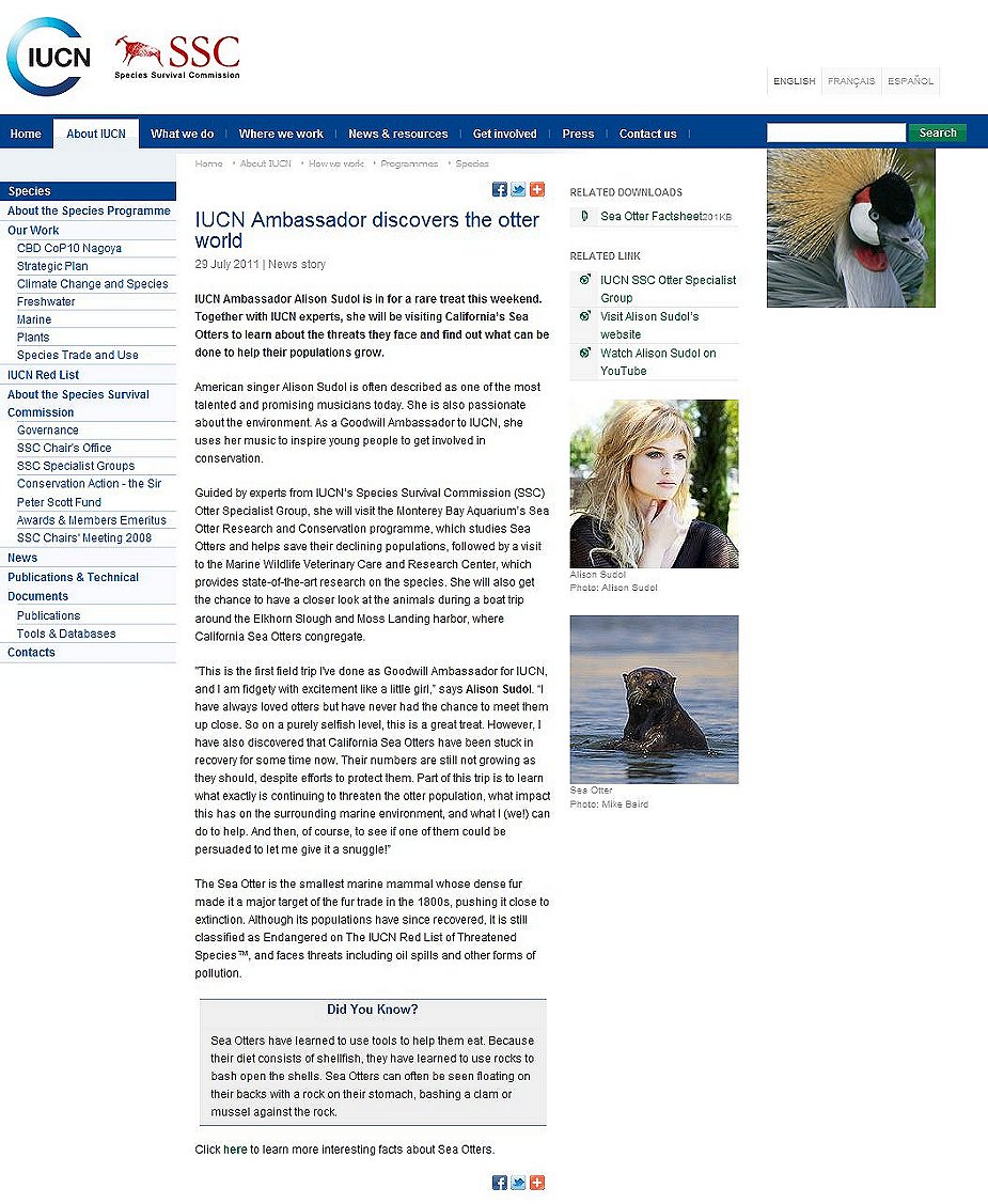 IUCN/SSC Otter Specialist Group Bulletin 28(1) Virtual Otters